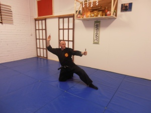 Chief Instructor Martin O'Raghaillaigh holds the rank of 6th dan in Ninpo and 6th dan Jujutsu. He is one of the rare Martial Artists in the west that holds authentic Japanese titles in ancient traditional Japanese schools of Martial Arts